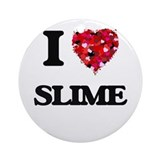 Slime Round Ornaments