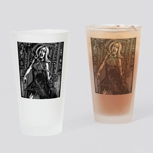 House of Zombies Drinking Glass