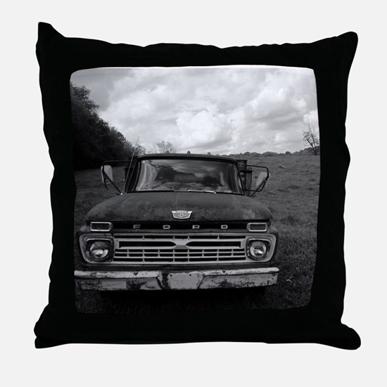 Ford V8 Truck Throw Pillow