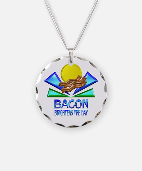 Bacon Brightens the Day Necklace