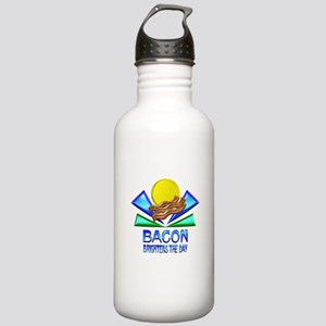 Bacon Brightens the Da Stainless Water Bottle 1.0L