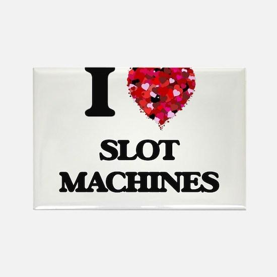 I love Slot Machines Magnets