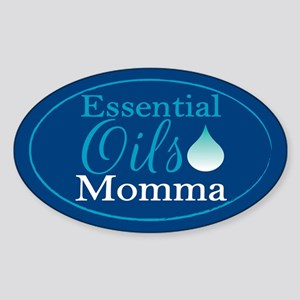Essential Oils Momma Sticker (Oval)