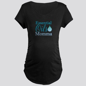 Essential Oils Momma Maternity Dark T-Shirt