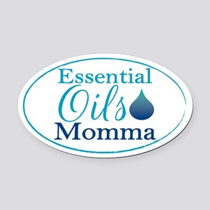 Essential Oils Momma Oval Car Magnet
