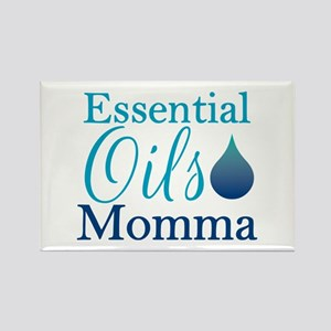 Essential Oils Momma Rectangle Magnet