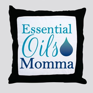 Essential Oils Momma Throw Pillow
