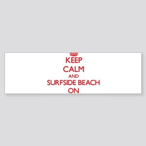 Keep calm and Surfside Beach Florid Bumper Sticker