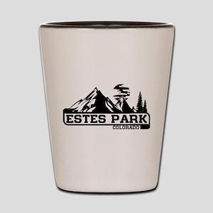 Estes Park Colorado Shot Glass