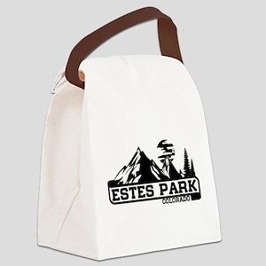 Estes Park Colorado Canvas Lunch Bag