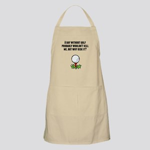 A Day Without Golf Apron
