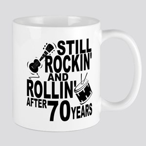 Rockin And Rollin After 70 Years Mugs