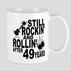Rockin And Rollin After 49 Years Mugs