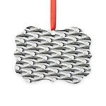Cobia fish Pattern Ornament