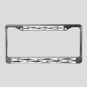 Cobia fish Pattern License Plate Frame