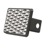 Cobia fish Pattern Hitch Cover
