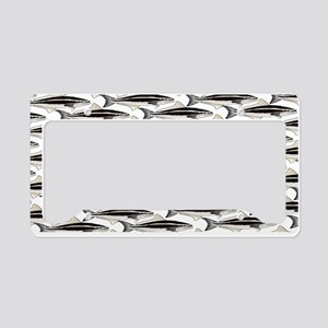 Cobia fish Pattern License Plate Holder