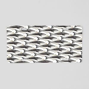 Cobia fish Pattern Aluminum License Plate