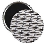 Cobia fish Pattern Magnets