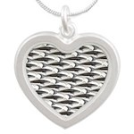 Cobia fish Pattern Necklaces