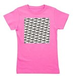 Cobia fish Pattern Girl's Tee