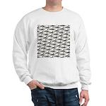 Cobia fish Pattern Sweatshirt