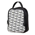 Cobia fish Pattern Neoprene Lunch Bag