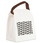 Cobia fish Pattern Canvas Lunch Bag