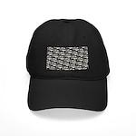 Cobia fish Pattern Baseball Hat