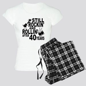 Rockin And Rollin After 40 Years Pajamas