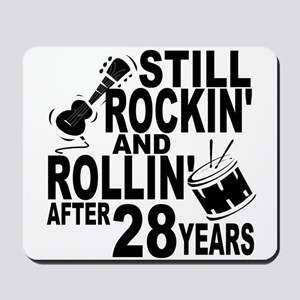 Rockin And Rollin After 28 Years Mousepad