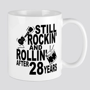 Rockin And Rollin After 28 Years Mugs
