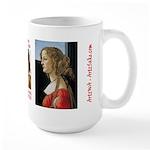 Simonetta Vespucci by Sandro Botticelli Large Mug
