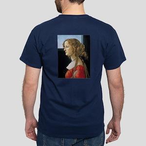 Simonetta Vespucci by Sandro Botticel Dark T-Shirt