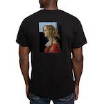 Simonetta Vespucci by Men's Fitted T-Shirt (dark)