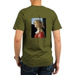 Simonetta Vespucci by Organic Men's T-Shirt (dark)