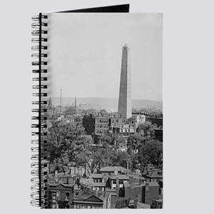 Vintage Photograph of Charlestown Massachu Journal