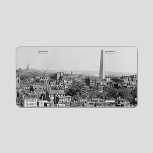 Vintage Photograph of Charl Aluminum License Plate