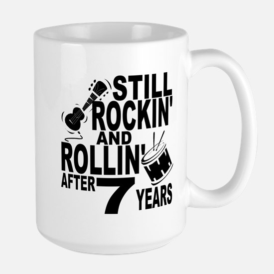 Rockin And Rollin After 7 Years Mugs