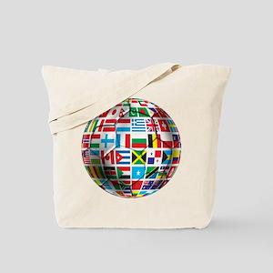 World Soccer Ball Tote Bag