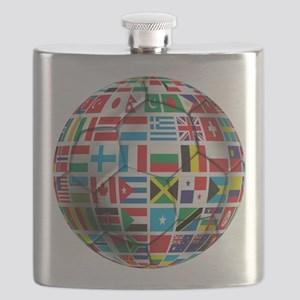 World Soccer Ball Flask