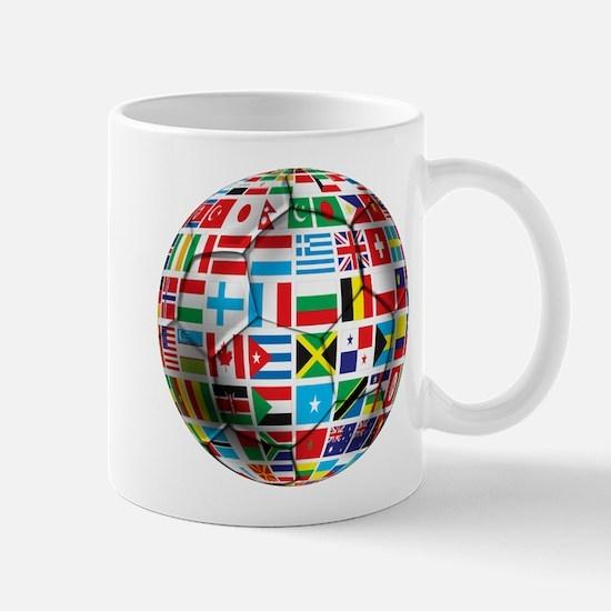 World Soccer Ball Mug