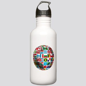 World Soccer Ball Stainless Water Bottle 1.0L