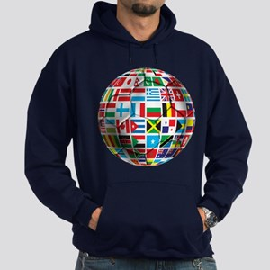 World Soccer Ball Hoodie (dark)