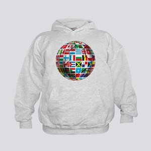 World Soccer Ball Kids Hoodie