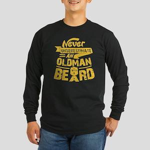 Old Man With a Beard Long Sleeve T-Shirt