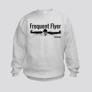 Frequent Flyer Kids Sweatshirt