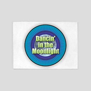 Dancin' in the Moonlight 5'x7'Area Rug