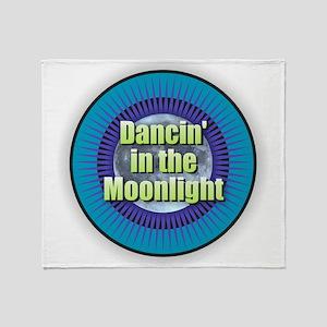 Dancin' in the Moonlight Throw Blanket
