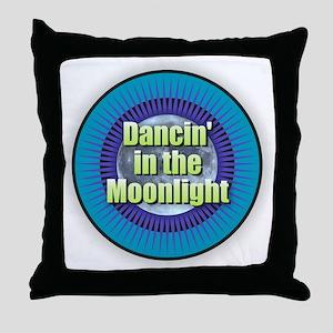 Dancin' in the Moonlight Throw Pillow